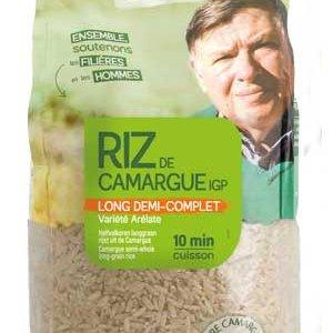 Riz de Camargue long demi complet biologique