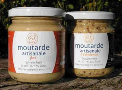 mon marché en ligne moutarde artisanale