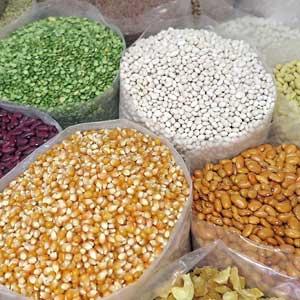 Céréales, légumes secs et graines