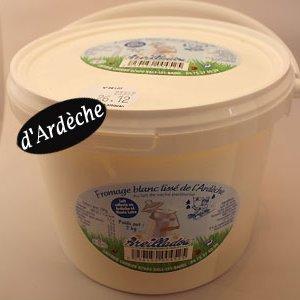 fromage blanc lissé Areilladou Ardèche