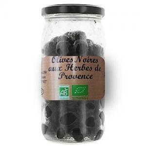 olive noire aux herbes de Provence bio
