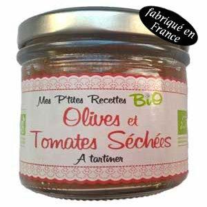 tartinade olives tomates séchées bio