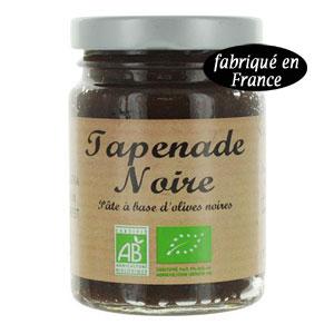 tapenade olive noire bio