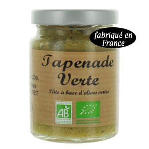 tapenade olive verte bio