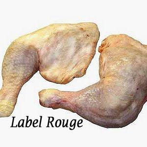 cuisse de poulet fermier blanc sud est France