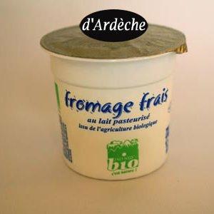 Fromage blanc frais bio