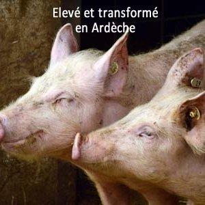 viande de porc fermière d'Ardèche