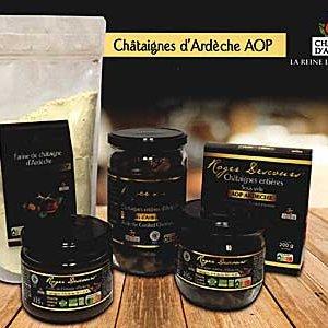 Châtaignes AOP Ardèche