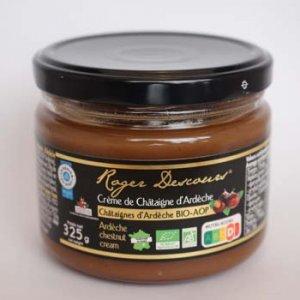 crème de châtaigne bio d'Ardèche